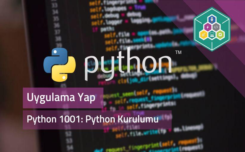 Python 1001: Python'a Giriş