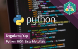 Python 1001: Liste Metotları