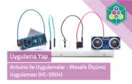 Arduino İle Uygulamalar - Mesafe Ölçümü Uygulaması (HC-SR04)