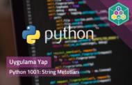 Python 1001: String Metotları